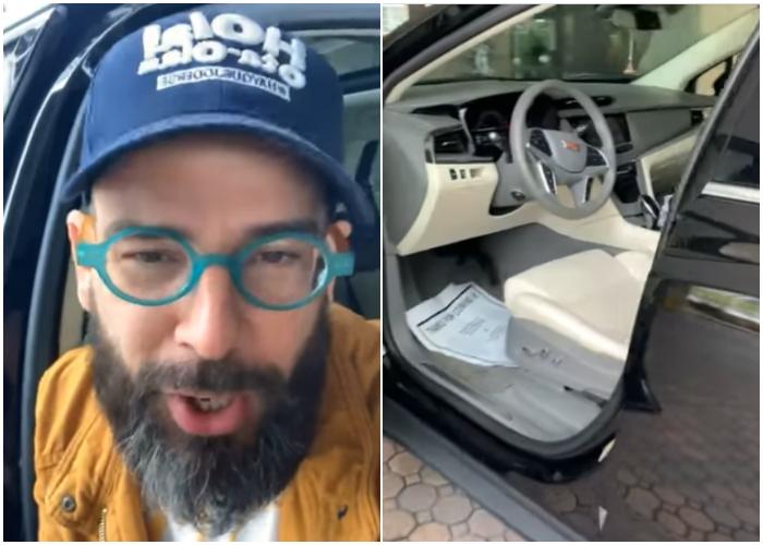 Otaola revela imágenes inéditas de su lujoso auto