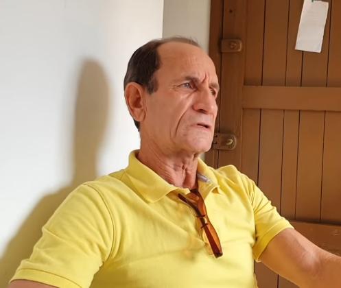 Profesor Pedro Albert Sánchez en una entrevista