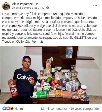 """Paparazzi Cubano: """"Voy a luchar para que mi pueblo pueda disfrutar como Dios manda"""""""