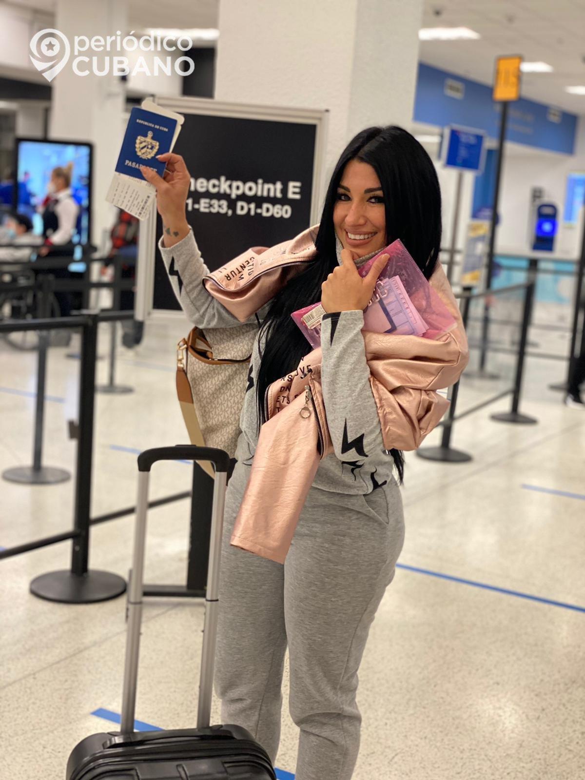 Se le perdió el pasaporte esta vez a Heydy González