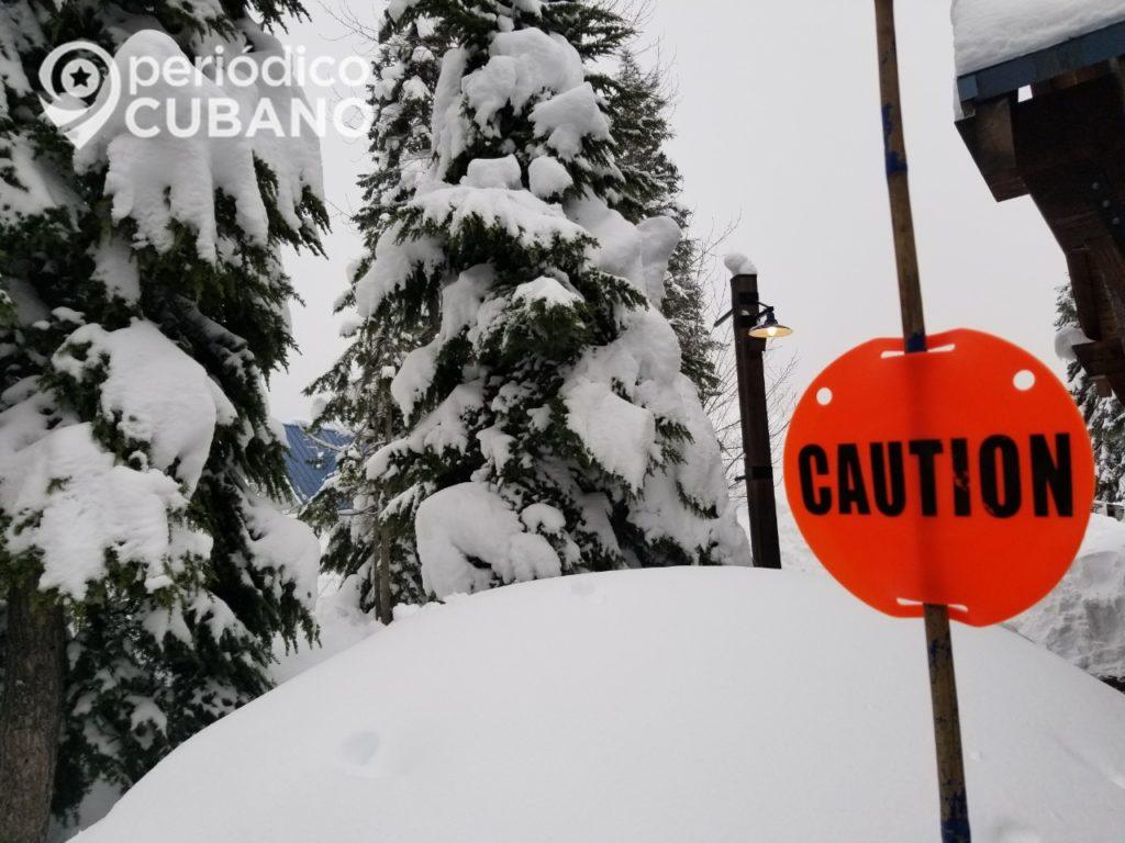 Severa tormenta de nieve deja 7 muertos en el noroeste de EEUU