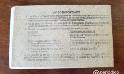 ¿Habrá multa de 5.000 CUP por no dar de baja a los emigrados de la libreta de abastecimiento