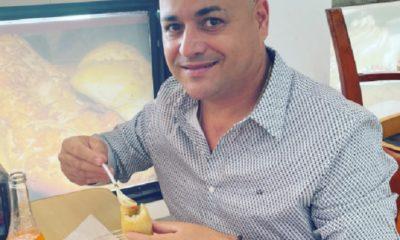 Andy Vázquez sale de hospitalización