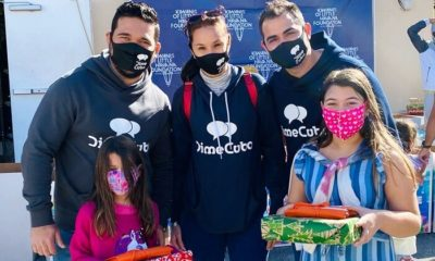 DimeCuba regala juguetes a niños de la Pequeña Habana
