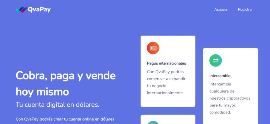 Lanzan Qvapay una plataforma de pagos en líneas y comercio electrónico, accesible desde Cuba. (Foto: Qvapay-Twitter)
