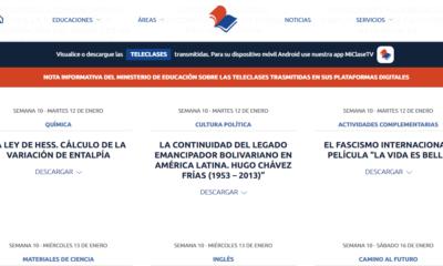 Plataforma del Ministerio de Educación donde están las teleclases para todas las enseñanzas en Cuba