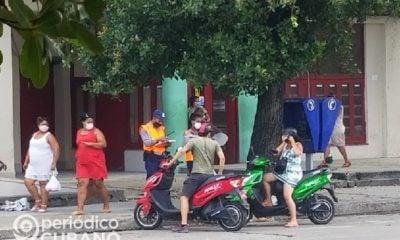 Organizan venta de motorinas desmanteladas decomisadas por el MININT