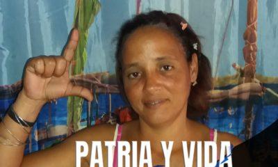 Amenazan con desalojar de su vivienda a Anyell Valdés y sus hijos, luego del acto de repudio (Anyell Valdés -Facebook)