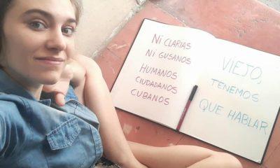 Artista Camila Lobón explica sucesos del 27 de enero