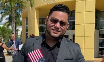 Influencer cubano Michelito Dando Chucho obtiene la ciudadanía americana