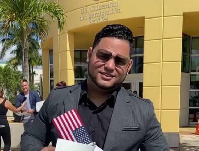 Cuban influencer Michelito Dando Chucho obtains American citizenship
