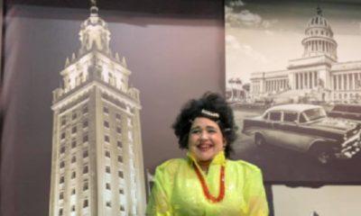 Magdalena La Pelúa recuerda cuando partió de Cuba