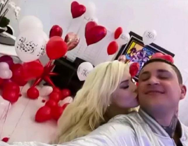 Osmani García y su nueva novia