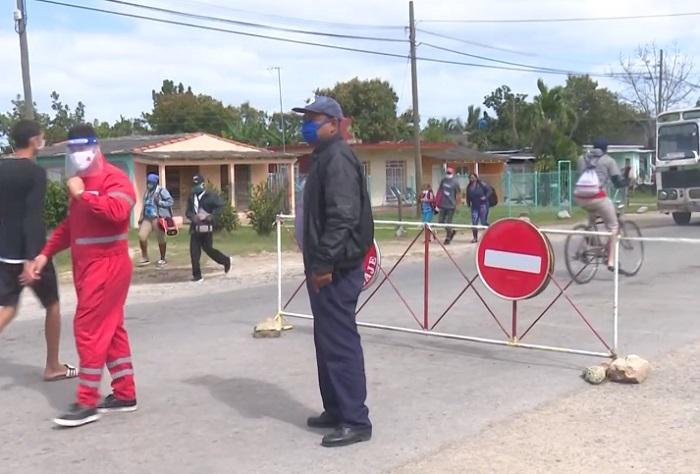Detectan fallas en los puntos de control de Covid-19 en Pinar del Río