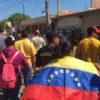 bandera de venezuela. protestas, concentracion