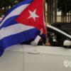 Bandera cubana en Miami