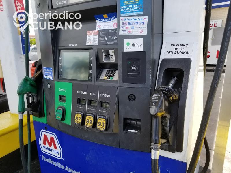 suben los precios de la gasolina en Florida