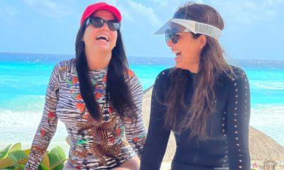 Aly Sánchez y Camila Guiribitey