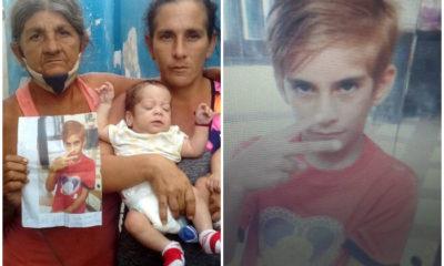 Amenazan con cárcel a familia de niño desaparecido en La Habana por pedir ayuda en redes