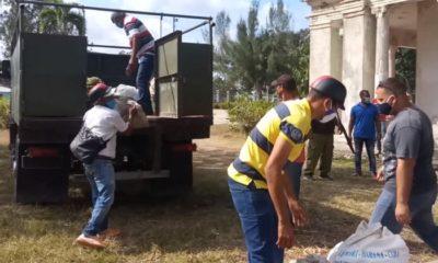 Campesinos en Santiago de Cuba donan alimento a centros de aislamiento