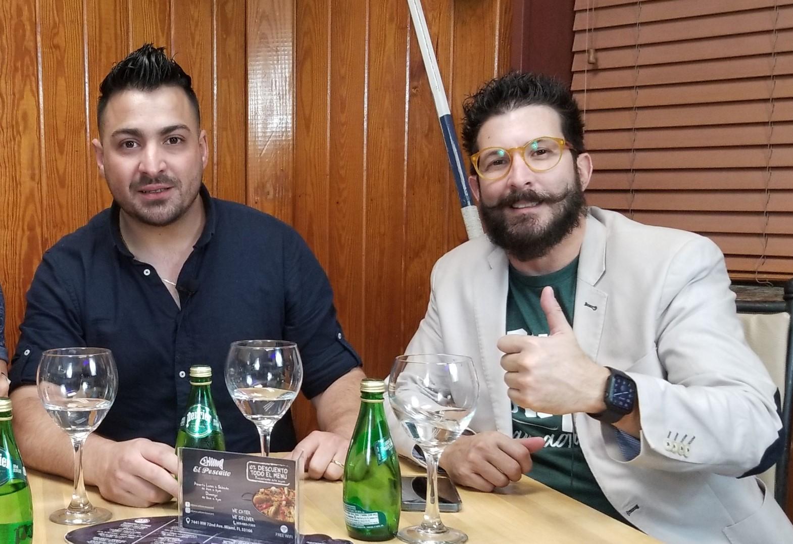 Carlos Armando Cabrera y Ricardo Becerra protagonista de Plantados