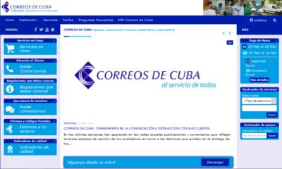 Demoras distribución paquetes internacionales Correos de Cuba