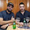 Frank Egusquiza y Carlos Armando Cabrera pelicula Plantados