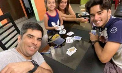 Humorista cubano Luis Silva festeja los 10 años de su hija con un juego familiar
