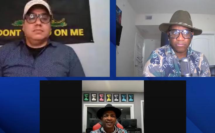 descemer bueno abandona entrevista con boncó y youtuber manuel milanés