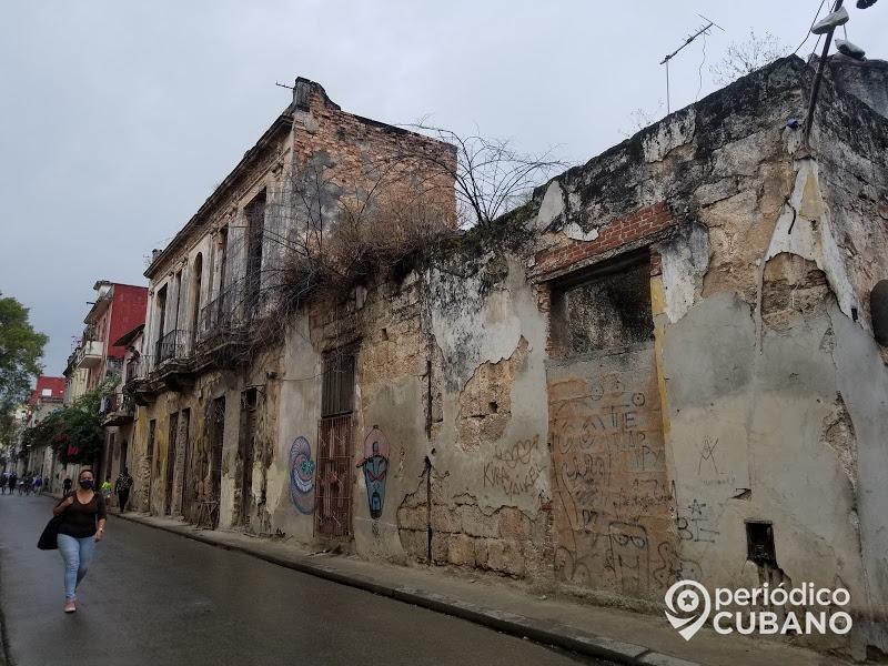 edificios en mal estado en la habana