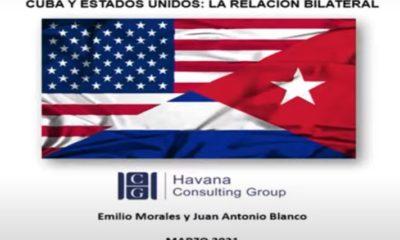 """Presentan informe """"Cuba-EEUU: La relación bilateral"""" (Foto: Captura de pantalla Youtube)"""