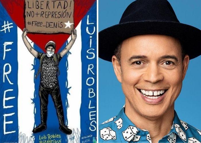 Alexis Valdés dedica versos preso político Cuba Luis Robles