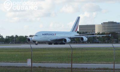 Avión de Air France en vuelo a Cuba sufre una emergencia médica