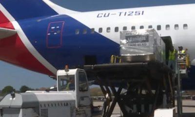 Arriban a Cuba 20 toneladas de insumos médicos provenientes de China