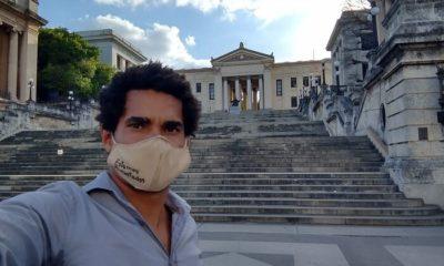El artista Luis Manuel Otero es liberado tras varias horas de arresto arbitrario