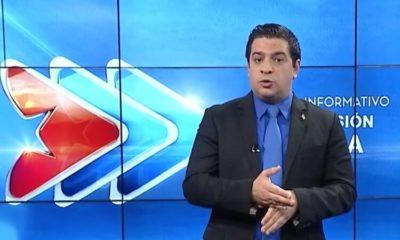 Humberto López ataca a Otero Alcántara. (Televisión Cubana). (1)