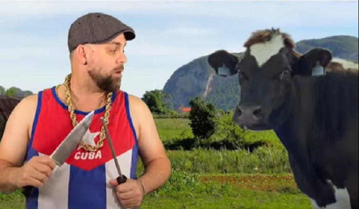 La divertida parodia a la carne de res en Cuba