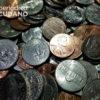 Monedas de centavos en dolares.