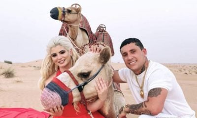 ¡Osmani García toma leche de camello y mira lo que le pasa!
