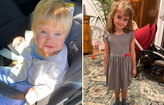 Anna de 1 año y Olivia de 6 años, las niñas desaparecidas en Tenerife