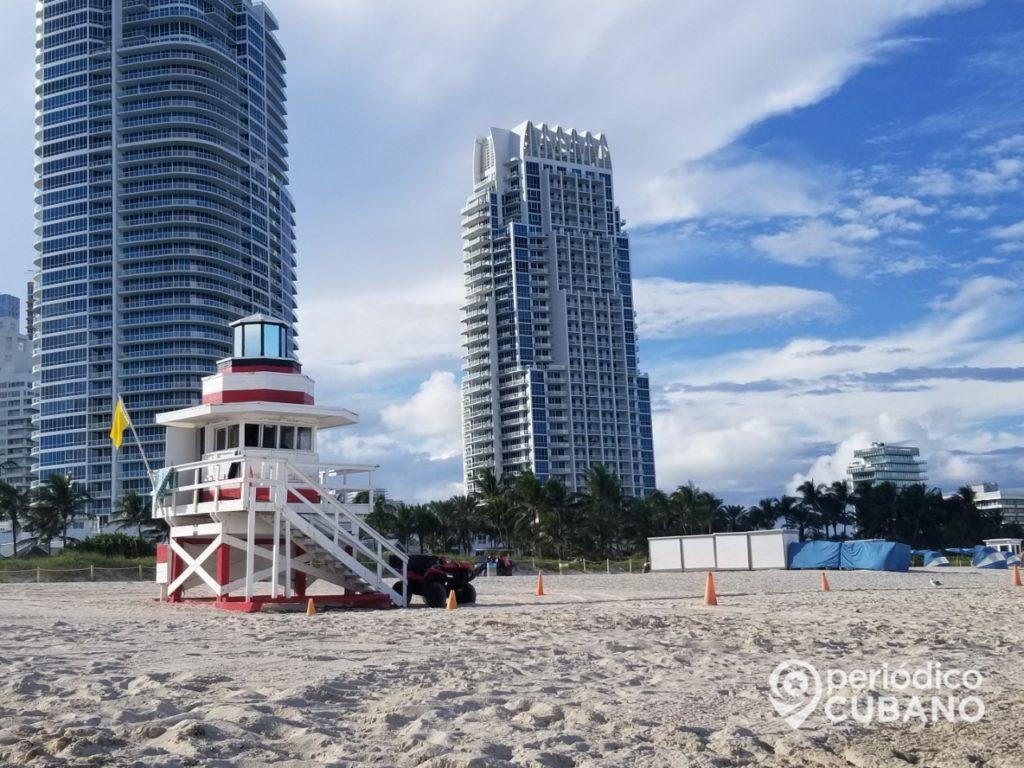 Autoridades de Miami Beach convocan a vacunarse en la playa con única dosis de Johnson & Johnson