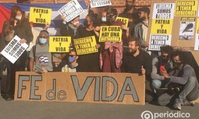 Cubanos en Barcelona exigen fe de vida a favor de Otero Alcántara