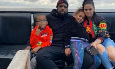 El Micha junto a su familia