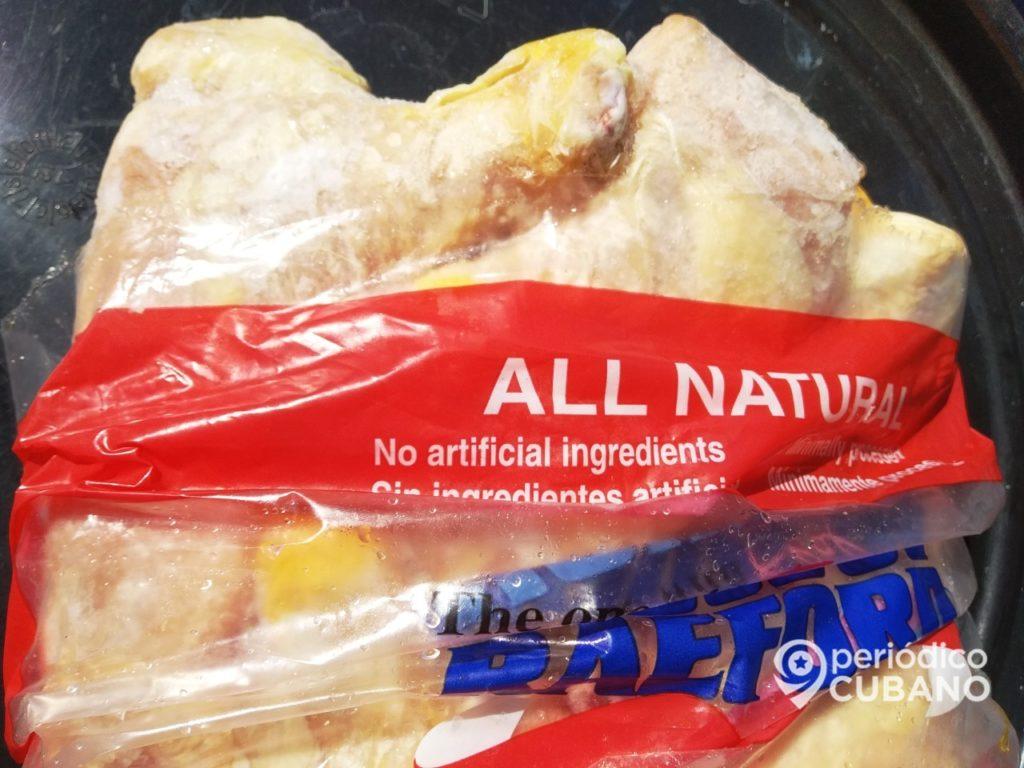 Gobierno cubano compra la segunda mayor cantidad de pollo a EEUU