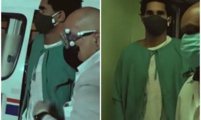 Otero Alcántara necesitó ser estabilizado en otro hospital antes de ser trasladado al Calixto García