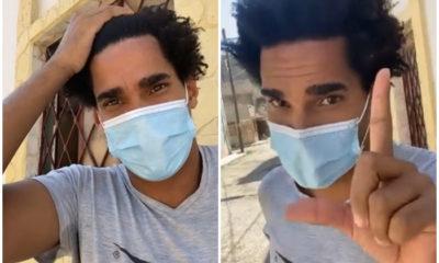 Las primeras palabras de Luis Manuel Otero Alcántara tras recibir el alta médica