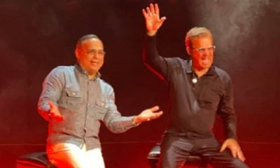 Willy Chirino y Gilberto Santa Rosa