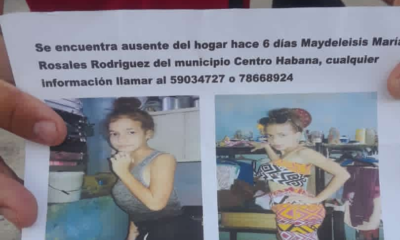 Familia de adolescente desaparecida desde mayo en La Habana se encuentra desesperada