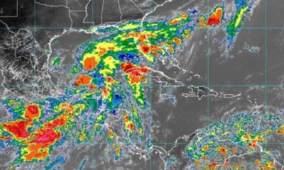 Advierten sobre la formación de la tormenta tropical Claudette en el Golfo de México