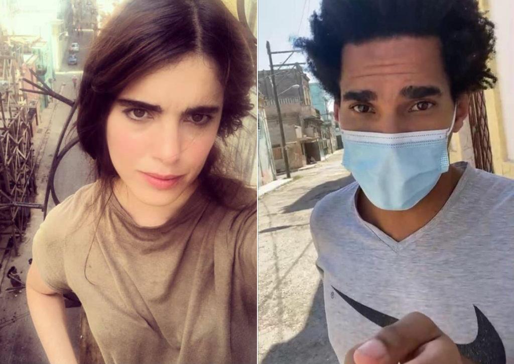 Carolina Barrero y Luis Manuel Otero